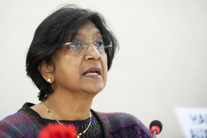 Alta Comissária das Nações Unidas para os Direitos Humanos, Navi Pillay