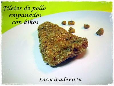 receta thermomix escalopines de pollo con kikos