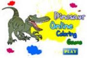 Dinazor Boyama Oyunu Oyna Dinazor Oyunları