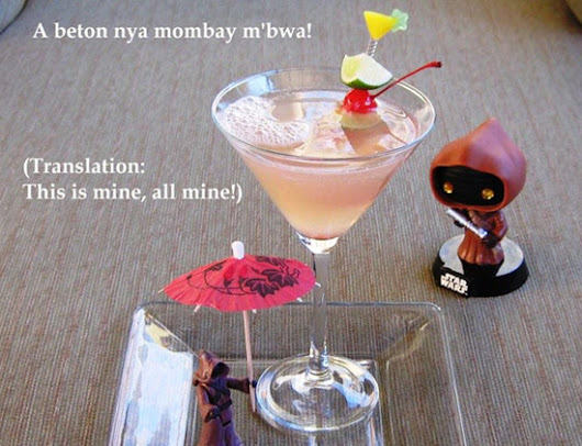 "Star Wars Menu: Mix Your Own Jawa ""Ooooo-Tini"" with This Recipe - Star Wars Reporter"