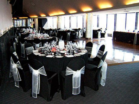 Black Wedding Chair Covers   Wedding Chair Covers