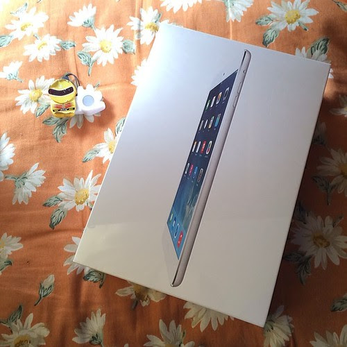 iPad mini with Retina display(SIM uolocked)、届いた