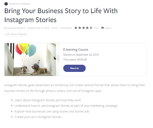 Facebook Launches Updated Education Courses for Instagram Marketers
