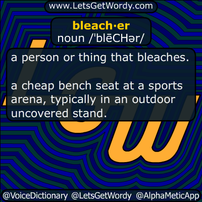 bleacher 07/03/2018 GFX Definition