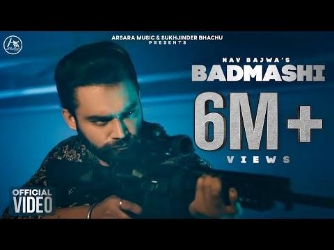 बदमाशी Badmashi - Navv Bajwa | Free Song Lyrics