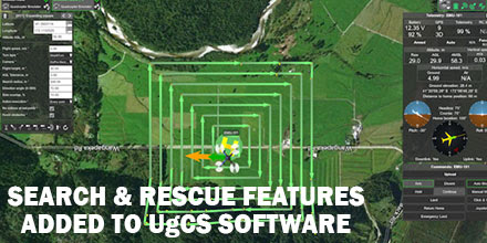 UgCS Unveils New Search Pattern Planning Feature for UAS - Unmanned Systems Source