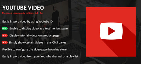 YouTube Video Magento Extension - MageBuzz