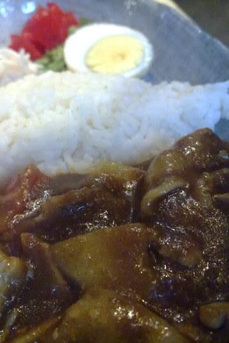 Curry stew pork