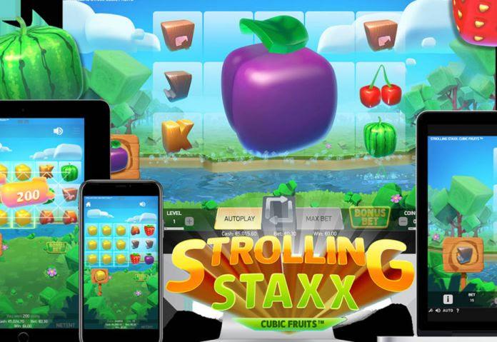 Strolling staxx прогулка игровой автомат юфс
