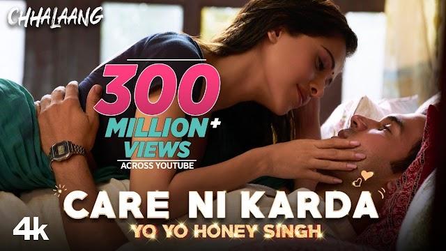Care Ni Karda Lyrics in Hindi - Yo Yo Honey Singh