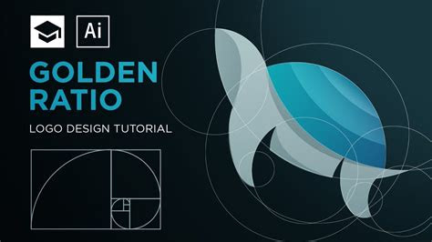 design  logo  golden ratio adobe illustrator