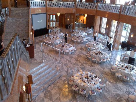 Reception in Grand Lobby at The Smith Center   Las Vegas