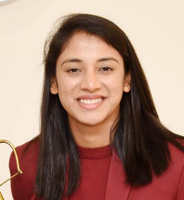 Happy Birthday to Indian Cricketer Smriti Mandhana
