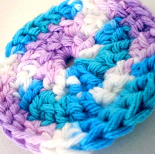 Cotton Face Scrubbies  Cotton Candy Facial by bloomandbling