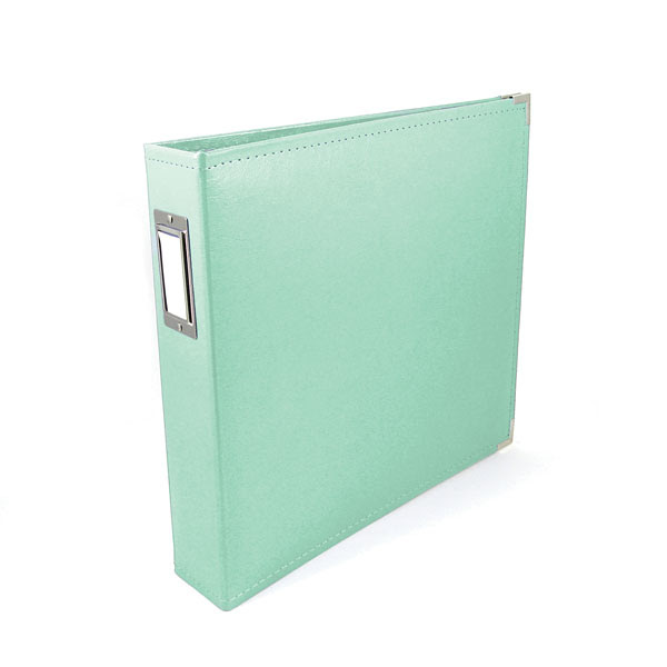 We R Memory Keepers 12x12 Classic Leather Ring Memory Album - Mint