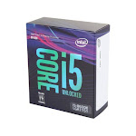 Intel Core i5-8600K 300 Series Processor - 6 cores & 6 threads - Up to 4.3 GHz - 8th Gen - Intel Optane memory supported - Only compatible w/ Mother