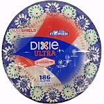 Dixie Ultra Ultimate Strength Paper Plates - 186 count