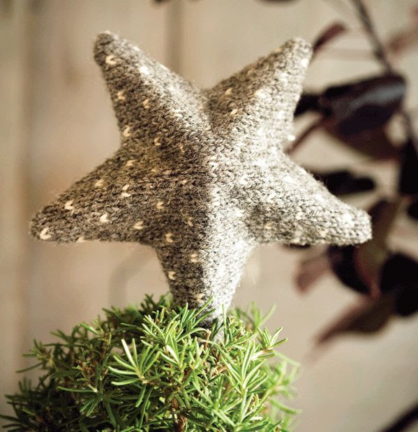 How to make a cozy Christmas tree topper. #diy #Christmas #holidaydecorating #topper #crafts