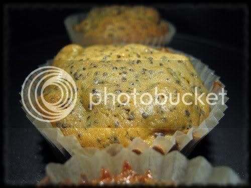Muffin alle Pere e Semi di Papavero