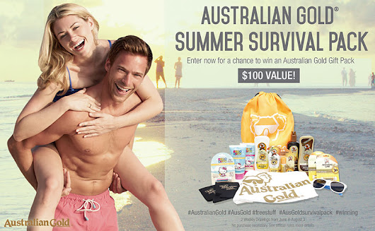 Australian Gold Summer Sweepstakes