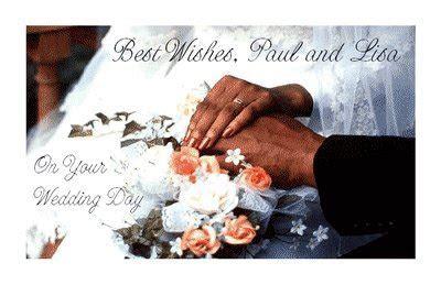 Wedding Day Wishes Greeting Card   Wedding Printable Card