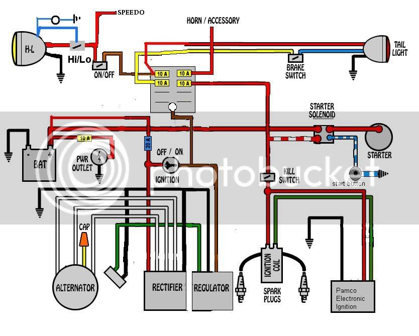 Polaris Starter Solenoid Wiring Diagram