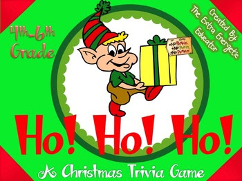 Ho! Ho! Ho!: A Christmas Trivia Game {Intermediate}