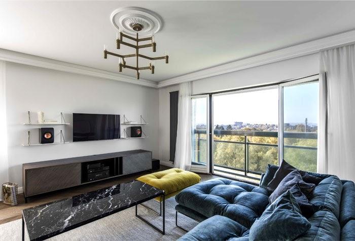 Ideas For Luxurious Living Room Apartment Interior Design images