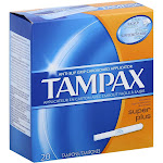 Tampax Oef Super Pls Size 20s -PACK 6