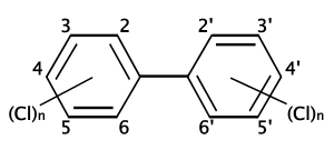 structure of polychlorinated biphenyl