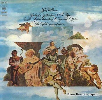 WILLIAMS, JOHN giuliani; guitar concerto in a major