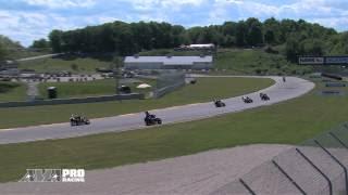 AMA Pro GoPro Daytona Sportbike - Road America Race 2 Highlights