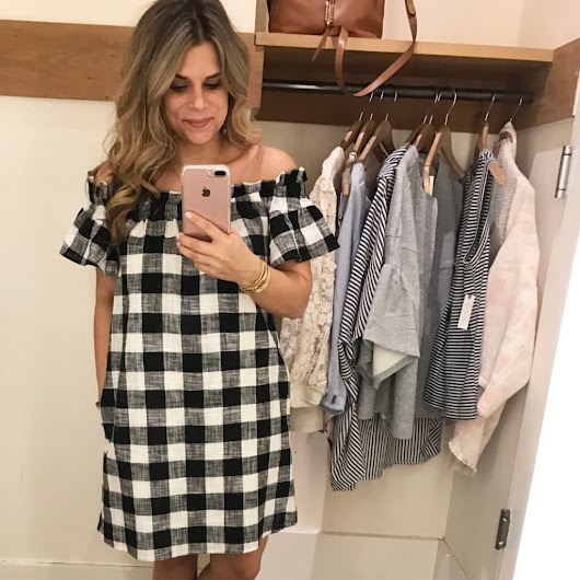Gingham Dress - Lindsey Meek