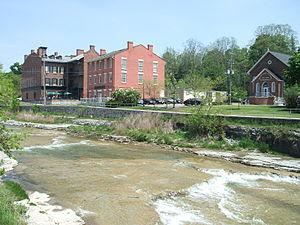 Ganaraska River, Port Hope, Ontario, Canada