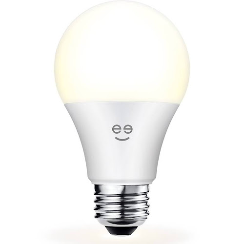 Geeni Lux 800 Dimmable Warm WiFi LED Smart Bulb, White, 9 W