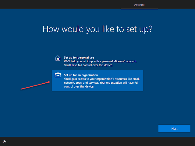 Join Windows 10 Azure AD step-by-step