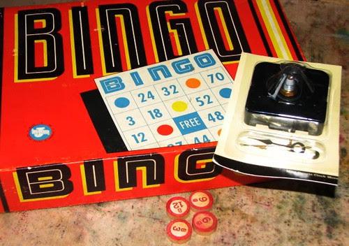 Vintage Game Clock 001