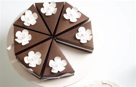 Cake Slice Box   DIY   Modern Wedding