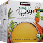 Organic Kirkland Signature Chicken Stock - 6 pack, 32 fl oz cartons