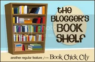 the book blogger's bookshelf