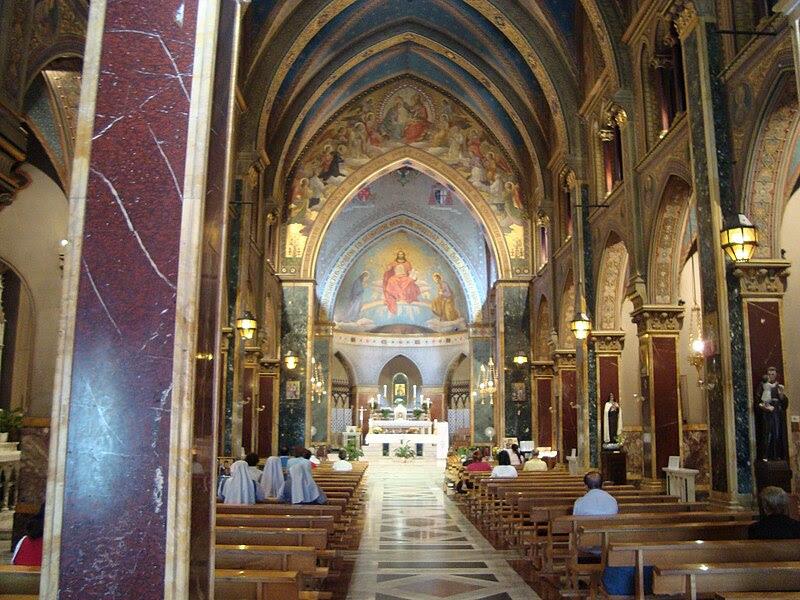 Fil:. Intérieur de l'Eglise Sant'Alfonso all'Esquilino JPG