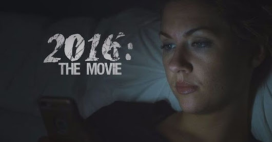 2016 recut as a horror movie is actually pretty terrifying