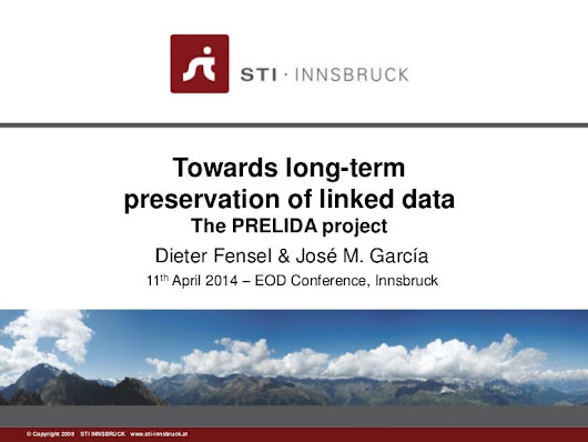 Towards long-term preservation of linked data  - the PRELIDA project