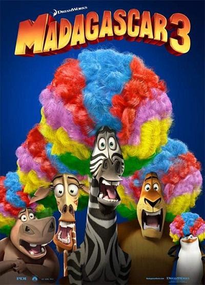 Madagascar 3 Poster