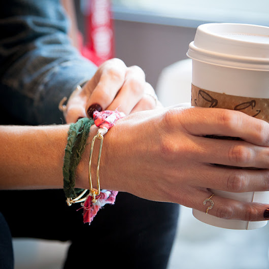 The Perfect 5 Minute DIY Bracelet