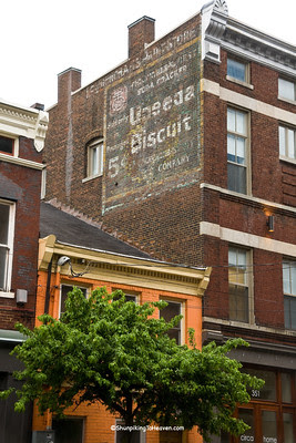 National Biscuit Company Uneeda Biscuit Sign, Lexington, Kentucky