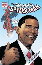 Спајдермен со Обама