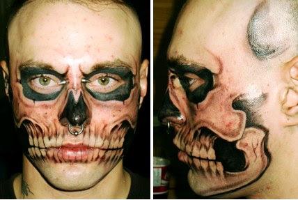 Derm F/x Tattoo. (via Neatorama)