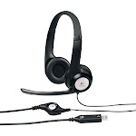 Logitech ClearChat On-Ear Headset - Black/Silver