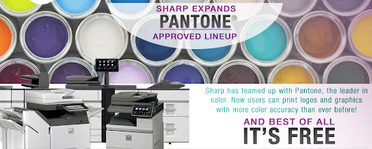Love PANTONE colors? Sharp has them all